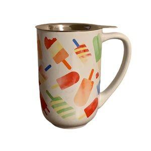 "David's Tea ""Ice Pops"" Nordic Mug with Strainer"